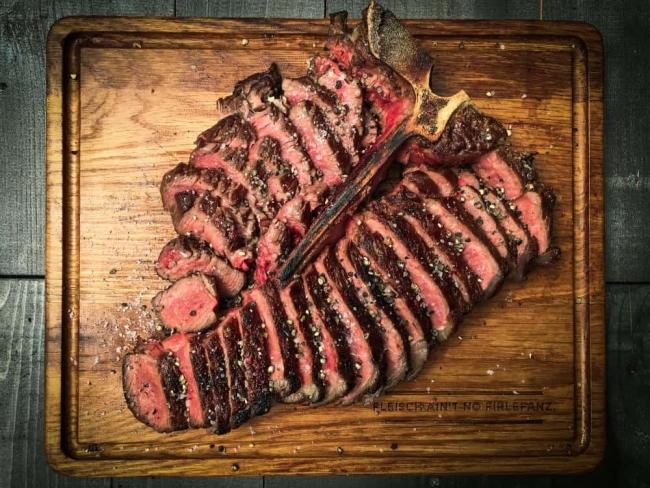 Reverse Seared Porterhouse Steak