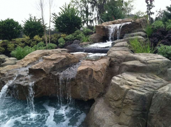Sparkle Outdoor Living New Water Feature