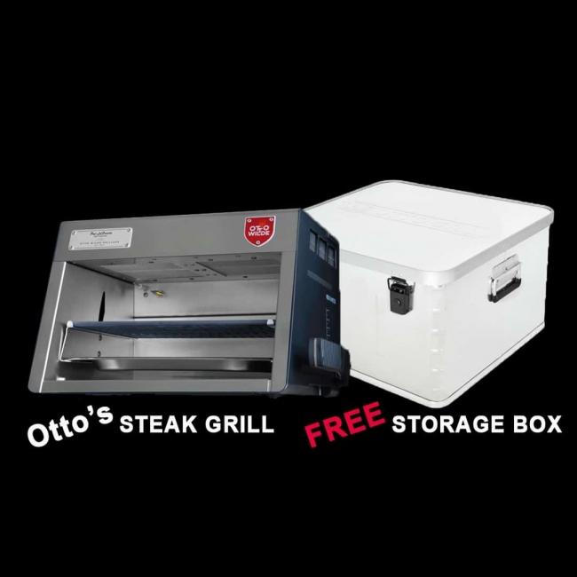 The Otto Grill and Storage Box Set